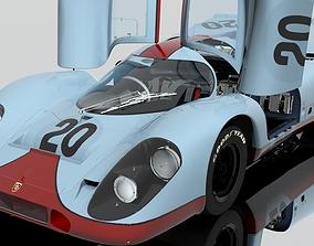 3D model Porsche 917 K racing 20