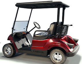 3D Golf Cart yamaha-instrument
