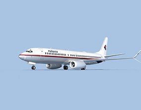 Boeing 737-800 Max Malaysia 3D