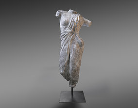 Draped Female Sculpture Restoration Hardware 3D model