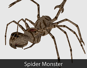 Spider Monster - Game Ready 3D asset