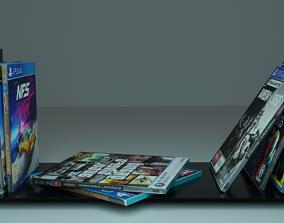 CD stand 3D model cd
