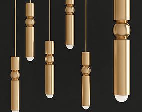 Fulcrum Light Gold - Lee Broom 3D model