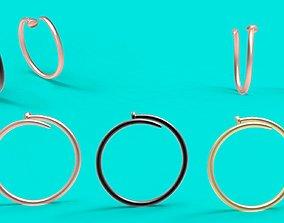 3D print model chiodo ring