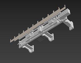 3D model Equidistant feeding mechanism