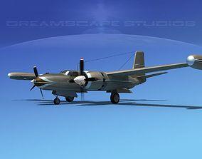 3D Douglas B-26 Marketeer V13