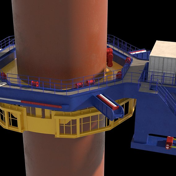 offshore (pile gripper)