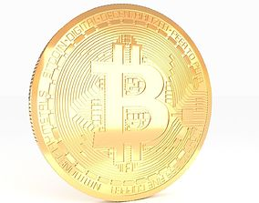 Bitcoin Realistic Detailed 3D