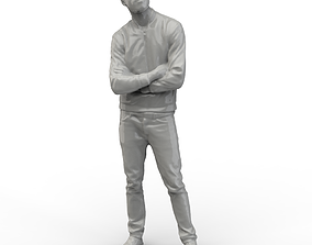 3D asset Posed Male