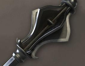 Flanged Mace 3D model