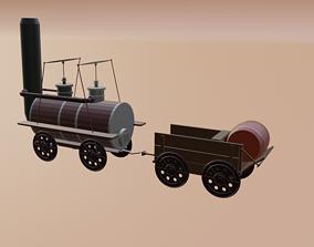 Western Village Packet 3D asset
