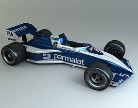 3D model 1983 Formula 1 Brabham BT52B