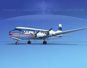 3D Douglas DC-6 Delta Airlines 2