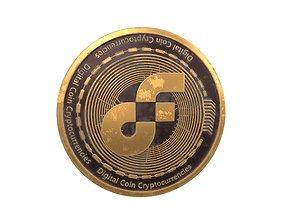 Flow Coin v3 002 3D model