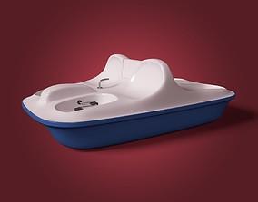 3D asset Pedal Boat
