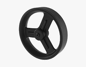Trolley wheel 3D model
