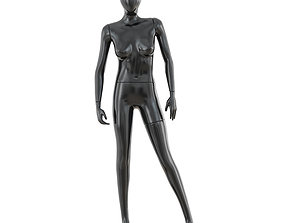 Abstract female mannequin 03 3D