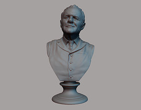 Robert Ford - Anthony Hopkins - from 3D printable model