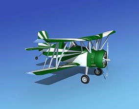 3D model Grumman G-164 AgCat V18 Sport