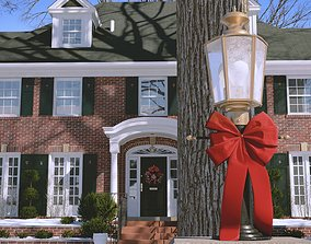 Home Alone House Happy Winter House authentic copy 3D 2