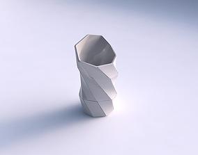 Vase vortex with huge plates 3D printable model