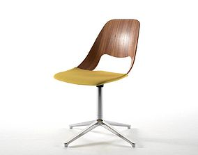 mid-century 3D Jill Fourstar Chair