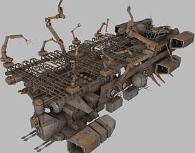 3D asset Mobile Shipyard