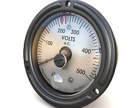 AC Voltmeter 02 3D