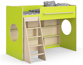Legenda K26 with LP25 childrens modular bed 3D