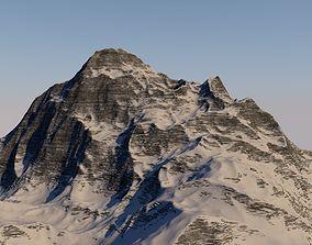 SNOWY MOUNTAIN 3D asset