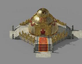 Temple Palace-Tiangong Tent 01 3D