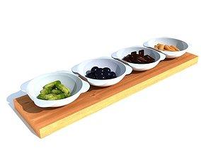 3D Appetizer Dish