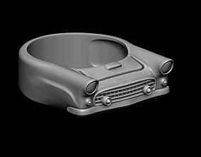 3D printable model car ring 15