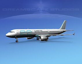 Airbus A321 Charter 22 3D model