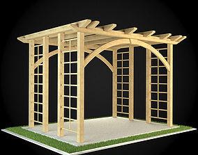 3D model interior Pergola