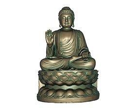 Buddha 3D print model 3D model