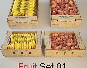3D Fruit Set 01