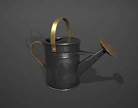 3D model Black Watering Can