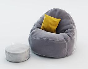 pillow 3D Bean Bag Chair