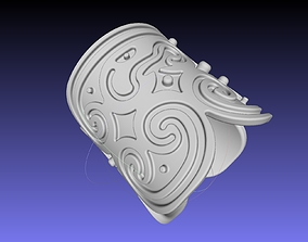How To Train Your Dragon Patterned 3D printable model 2