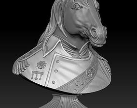 Horse bronze 3D print model