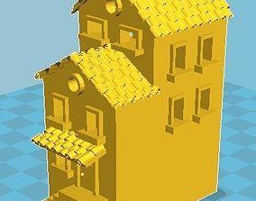 3D print model Medieval House 9