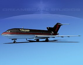 Trump Boeing Jets 757-200 and 727-100 3D