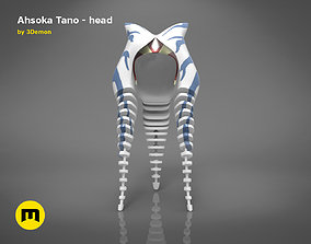 3D printable model Ahsoka Tano head