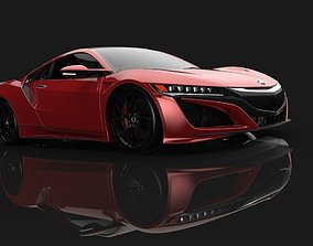 3D model Acura NSX 2019
