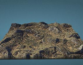 Highlands Heightmap 3D asset
