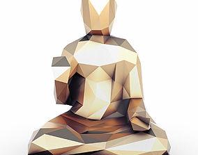 Buddha 2 Low Poly 3D asset