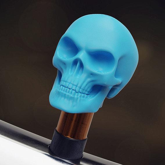 Skull valve cap for Schrader valves