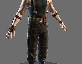 Riddick 3D asset