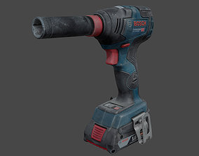 3D Bosch GDX 18V-200 C Cordless Wrench RAW Scan